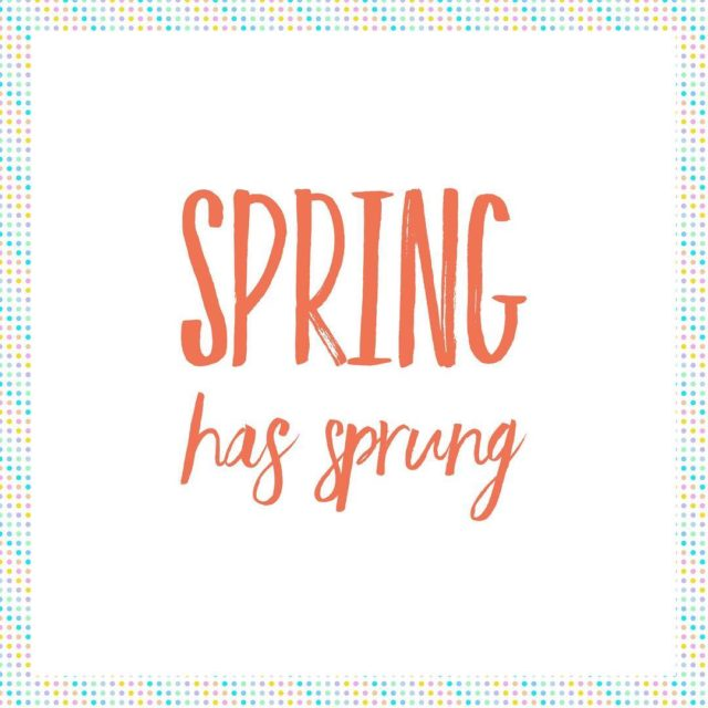 Happy Spring! Get excited for weddingseason!